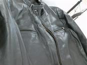 ROUNDTREE & YORKE Coat/Jacket BROWN LEATHER JACKET